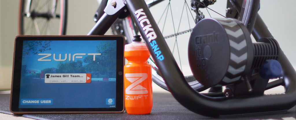 TitaniumGeek DSC01155 Wahoo KICKR SNAP Review   Zwift Gear Test Cycling Gear Reviews Smart Trainers Zwift  Zwift Gear Test Zwift Wahoo Turbo Trainer power meter KICKR   Image of DSC01155