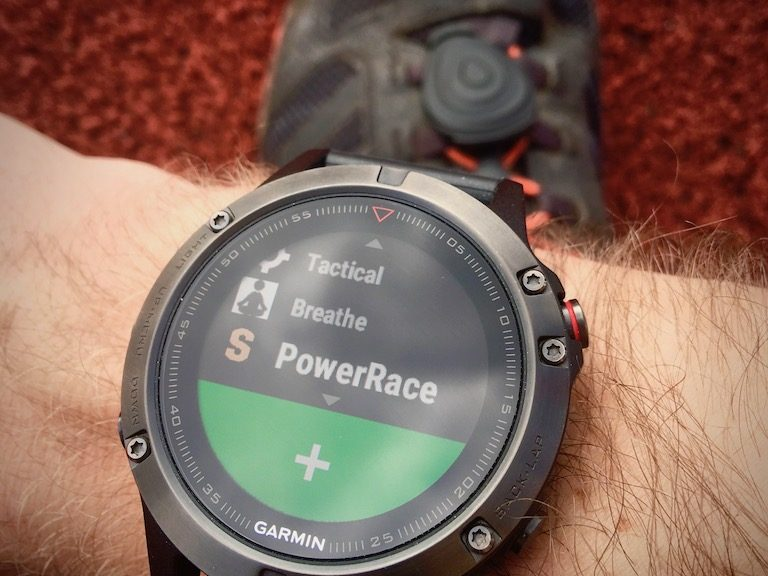 Stryd PowerRace Garmin IQ App Review