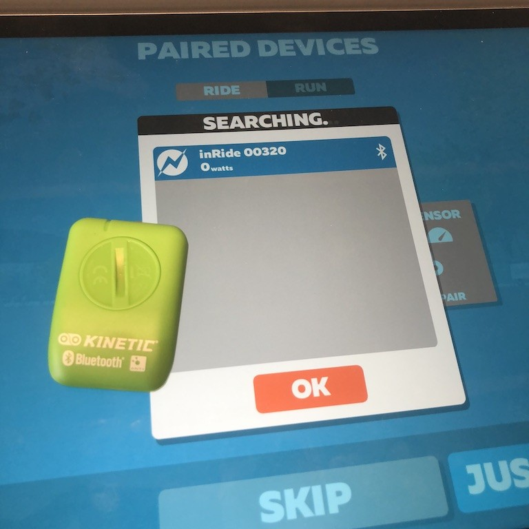 TitaniumGeek IMG 0004 Kinetic inRide Power Sensor Review   Zwift Gear Test Cycling Gear Reviews Power Meters Smart Trainers Zwift  Zwift power meter Kinetic   Image of IMG 0004
