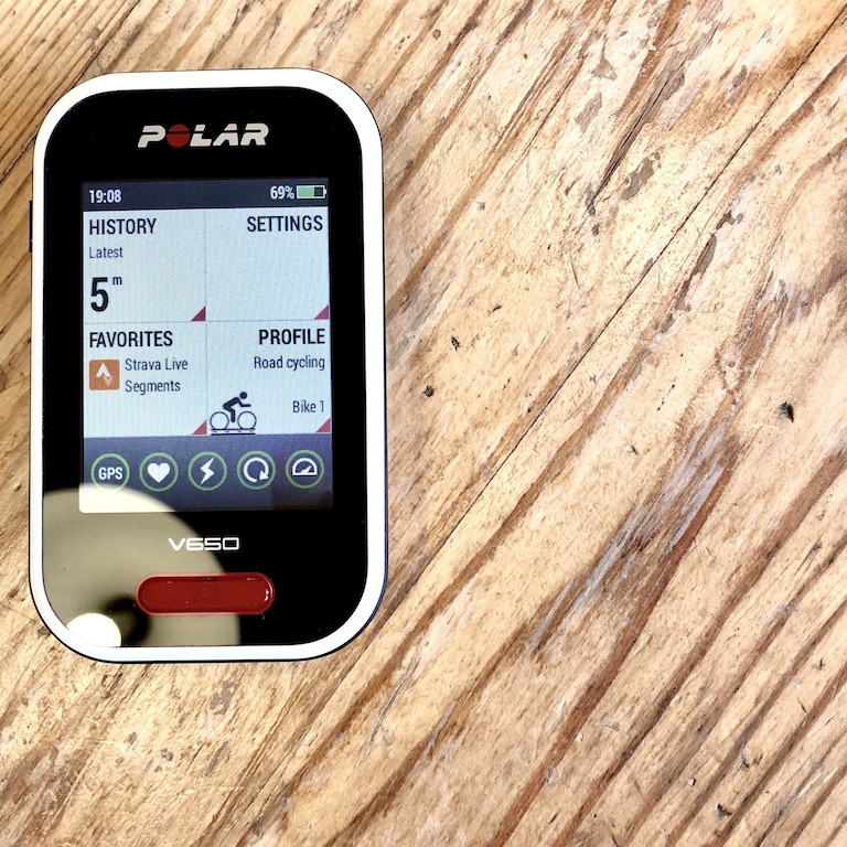 TitaniumGeek IMG 0280 2 Polar V650 2018 Cycling Computer Review Cycling Cycling Computers and GPS Units Gear Reviews  Polar GPS cycling   Image of IMG 0280 2