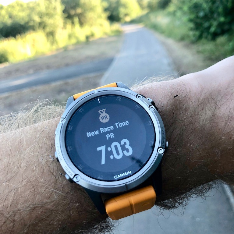 TitaniumGeek IMG 0367 Garmin Fenix 5 Plus Review: When More Can Mean Less Cycling Gear Reviews Heart Rate Monitors Running  Triathlon smart watch running Optical Heart Rate garmin Fenix cycling   Image of IMG 0367