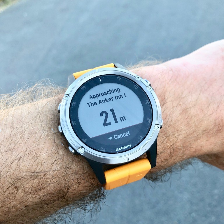 TitaniumGeek IMG 0392 Garmin Fenix 5 Plus Review: When More Can Mean Less Cycling Gear Reviews Heart Rate Monitors Running  Triathlon smart watch running Optical Heart Rate garmin Fenix cycling   Image of IMG 0392