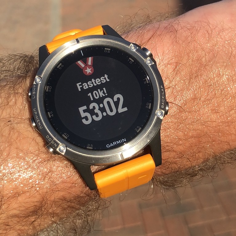 TitaniumGeek IMG 0751 Garmin Fenix 5 Plus Review: When More Can Mean Less Cycling Gear Reviews Heart Rate Monitors Running  Triathlon smart watch running Optical Heart Rate garmin Fenix cycling   Image of IMG 0751
