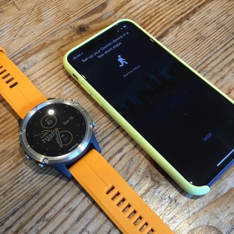 TitaniumGeek IMG 1247 Garmin Fenix 5 Plus Review: When More Can Mean Less Cycling Gear Reviews Heart Rate Monitors Running  Triathlon smart watch running Optical Heart Rate garmin Fenix cycling   Image of IMG 1247