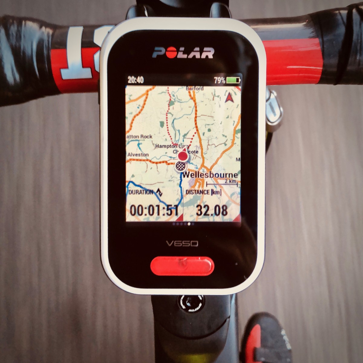 TitaniumGeek img 8282 Polar V650 2018 Cycling Computer Review Cycling Cycling Computers and GPS Units Gear Reviews  Polar GPS cycling   Image of img 8282