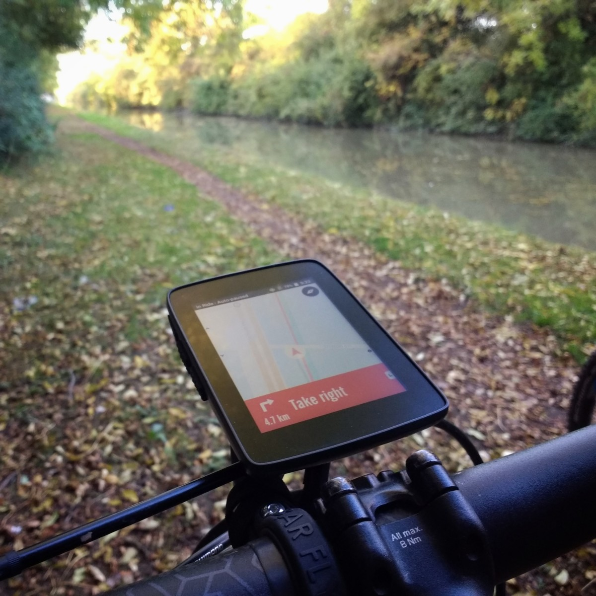 TitaniumGeek IMG 20181009 172232306 01 Hammerhead Karoo GPS Review   Android on your bike Cycling Cycling Computers and GPS Units Gear Reviews  Karoo GPS cycling Bike computer android   Image of IMG 20181009 172232306 01