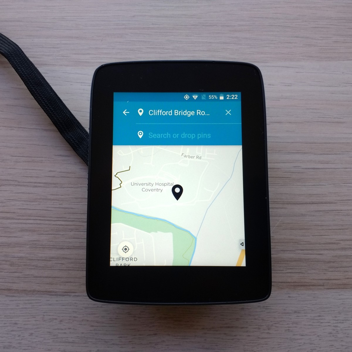 TitaniumGeek IMG 20181010 142255837 01 Hammerhead Karoo GPS Review   Android on your bike Cycling Cycling Computers and GPS Units Gear Reviews  Karoo GPS cycling Bike computer android   Image of IMG 20181010 142255837 01
