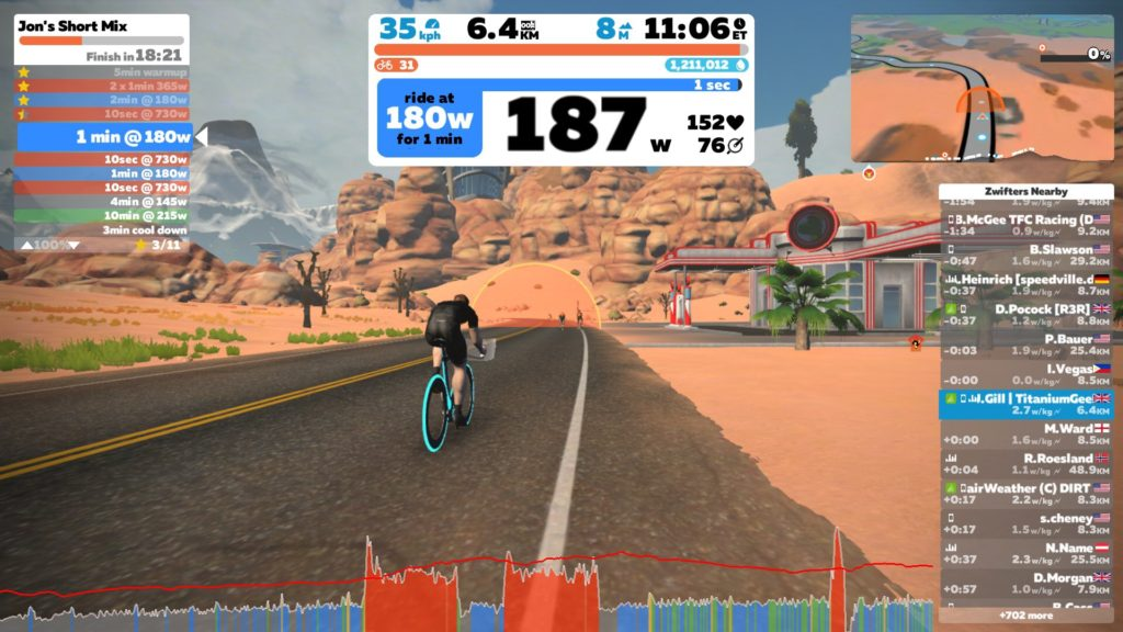 TitaniumGeek IMG 7274 1024x576 Kinetic R1 Smart Trainer   Preview Cycling Gear Reviews Smart Trainers Zwift  Zwift Smart trainer Kinetic cycling   Image of IMG 7274 1024x576