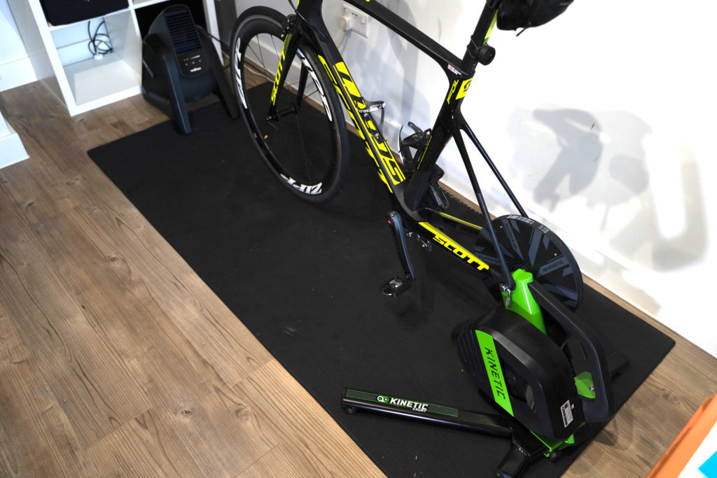 TitaniumGeek Kinetic R1 35 1024x683 Kinetic R1 Smart Trainer   Preview Cycling Gear Reviews Smart Trainers Zwift  Zwift Smart trainer Kinetic cycling   Image of Kinetic R1 35 1024x683