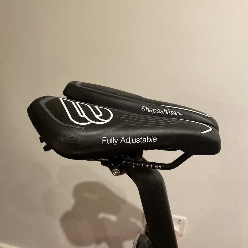 TitaniumGeek IMG 5654 BiSaddle ShapeShifter Saddle Review   Home Custom Saddle Gear Reviews    Image of IMG 5654