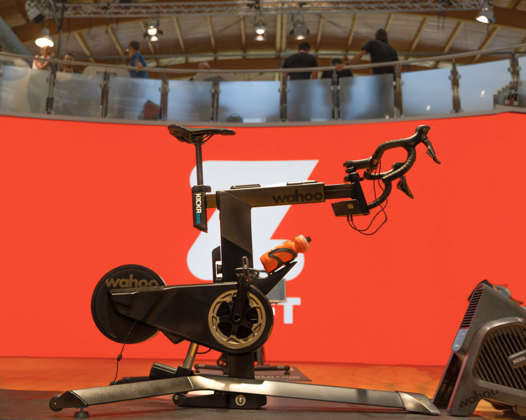 TitaniumGeek Wahoo Kickr BIKE 88 of 94 Edit 1024x818 Wahoo KICKR Bike   Wahoo Joins the Smart Bike Fight Cycling Gear Reviews Smart Trainers Zwift  Zwift   Image of Wahoo Kickr BIKE 88 of 94 Edit 1024x818