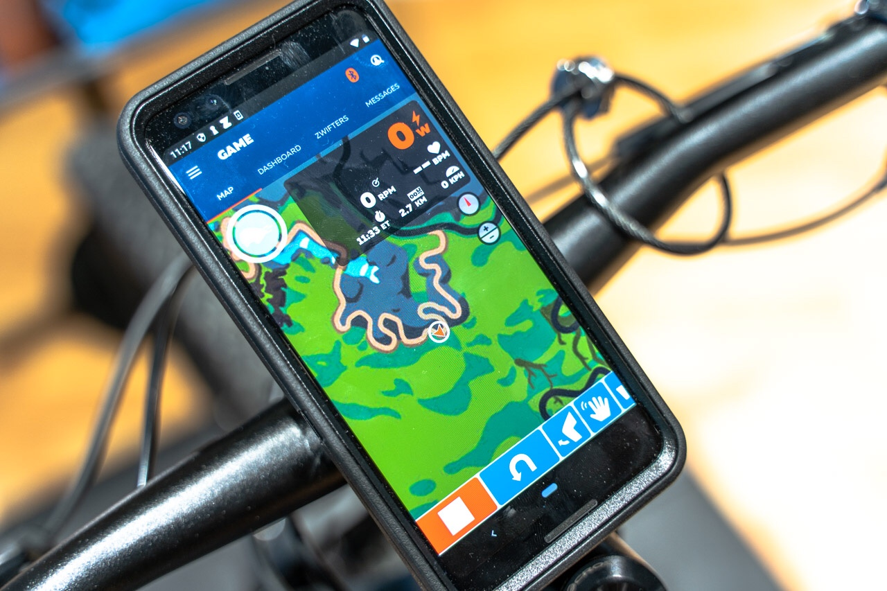 TitaniumGeek eurobike 164 of 427 Zwift Steering and Zwift Mountain Bike Course Revealed Cycling Gear Reviews Zwift    Image of eurobike 164 of 427