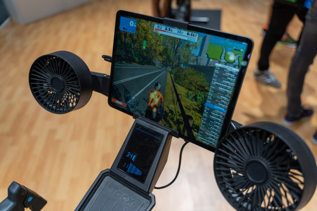 TitaniumGeek untitled 226 of 331 1024x683 Wahoo KICKR Bike   Wahoo Joins the Smart Bike Fight Cycling Gear Reviews Smart Trainers Zwift  Zwift   Image of untitled 226 of 331 1024x683
