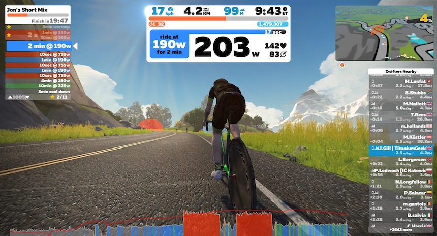 TitaniumGeek IMG 0049 Elite Direto X Smart Trainer Review | Zwift Gear Test Cycling Gear Reviews Smart Trainers Zwift  Smart trainer Elite Direto cycling   Image of IMG 0049