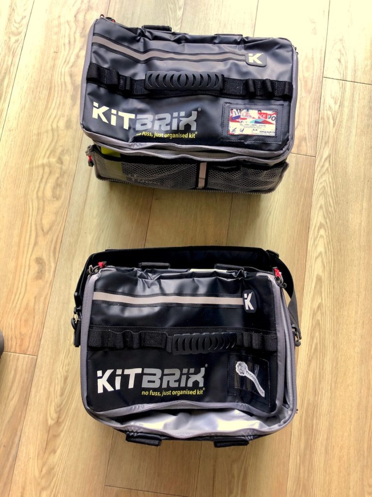 TitaniumGeek IMG 9732 768x1024 KitBrix Bag Review   Triathlon Transition, Sorted! Gear Reviews Swimming Triathlon  Triathlon Tri bag bag   Image of IMG 9732 768x1024