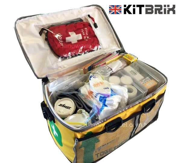 TitaniumGeek kitbrix Medical KitBrix Bag Review   Triathlon Transition, Sorted! Gear Reviews Swimming Triathlon  Triathlon Tri bag bag   Image of kitbrix Medical
