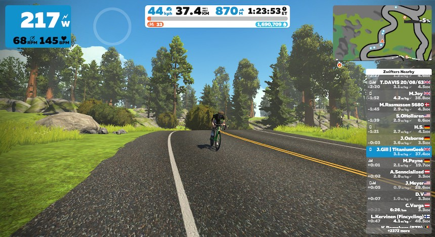 TitaniumGeek 2019 11 07 16393676 Elite Direto X Smart Trainer Review | Zwift Gear Test Cycling Gear Reviews Smart Trainers Zwift  Smart trainer Elite Direto cycling   Image of 2019 11 07 16393676