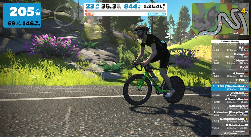 TitaniumGeek IMG 0631 Elite Direto X Smart Trainer Review | Zwift Gear Test Cycling Gear Reviews Smart Trainers Zwift  Smart trainer Elite Direto cycling   Image of IMG 0631