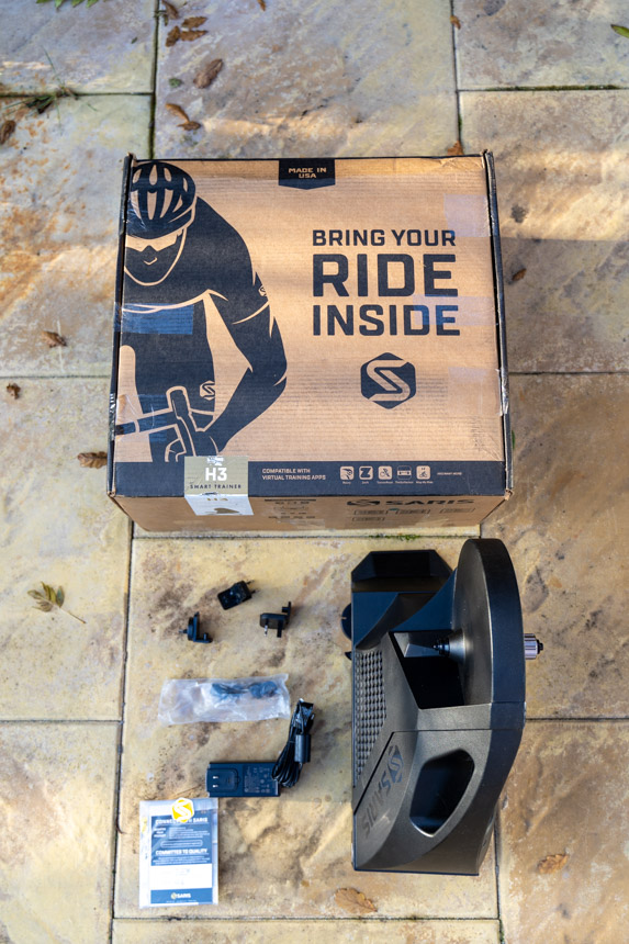 TitaniumGeek Saris H3 review 33 3 Saris H3 Smart Trainer Review   Zwift Gear Test Cycling Gear Reviews Smart Trainers  Zwift Gear Test Smart trainer saris   Image of Saris H3 review 33 3