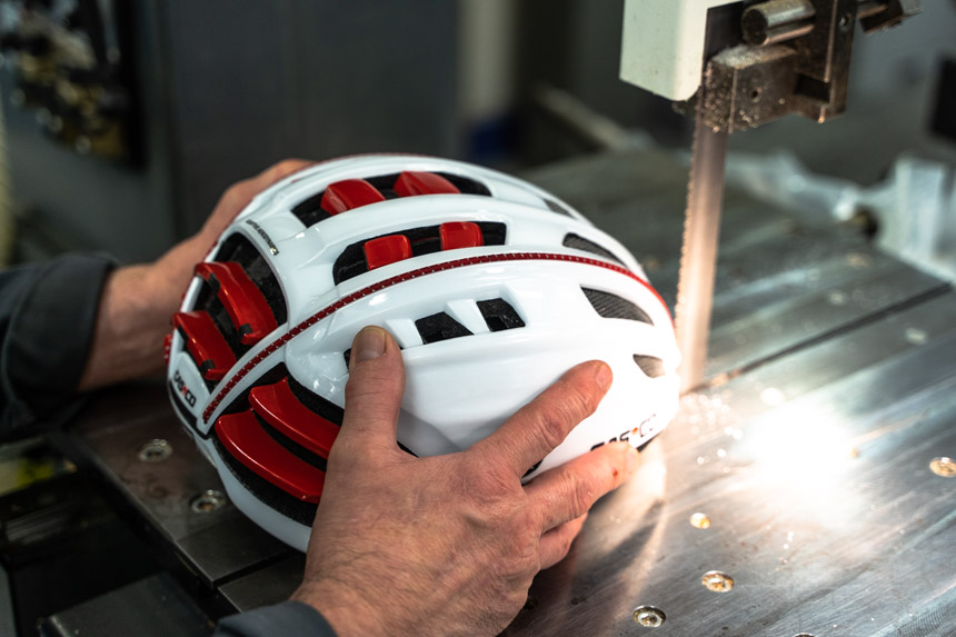 TitaniumGeek untitled 16 1 HEXR Helmet Review   Could Your Next Lid Be 3D Printed? Cycling Gear Reviews Helmets  helmet   Image of untitled 16 1